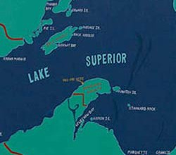 Lake Superior is the largest freshwater lake in the world
