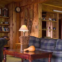 Enjoy the comfort of rustic ambiance.