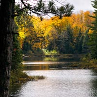 The quiet beauty of Spruce Lake.